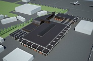 Project of Aeroflot's Temporary Base