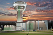 Project of control tower at Irkutsk Airport