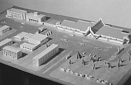 Model of terminal in Arkhangelsk airport