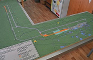 Model of Tolmachevo Airport System