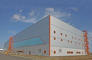 Hangar for Business aviation at Sheremetyevo Airport