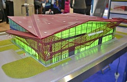 Model of terminal in Saransk airport
