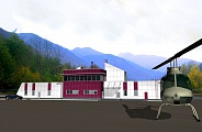 Project of Heliport Service and Passenger Building in South Ossetia