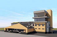 Project of Service and Premise and Passenger Building in Severo-Evensk Airport