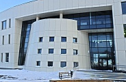 Building of the aviation search and rescue center at Samara Airport