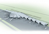 Pre-design of Koltsovo Airport