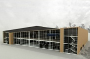 Project of the terminal at Volgograd Airport