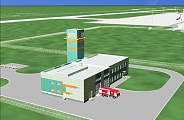 Project of Emergency Rescue Station in Vladikavkaz Airport