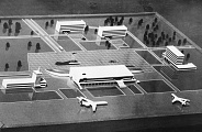 Model of Air Terminal in Riga Airport