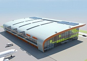 Project of the terminal at Anapa airport