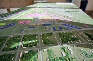 Model of Vnukovo airport