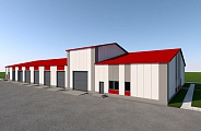 Project of Garage for Special Purpose Vehicles in Ozernaya Airport