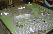 Model of terminal in Belgorod airport