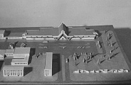 Model of terminal in Arhangelsk Airport