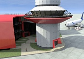 Project of control tower at Domodedovo Airport