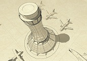 Preliminary Design of ATM Building with Control Tower in Domodedovo Airport