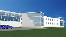 Project of hangar for business aviation at Vnukovo Airport