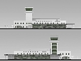 Project of Air Terminal in Krayny Airport (Baykonur)